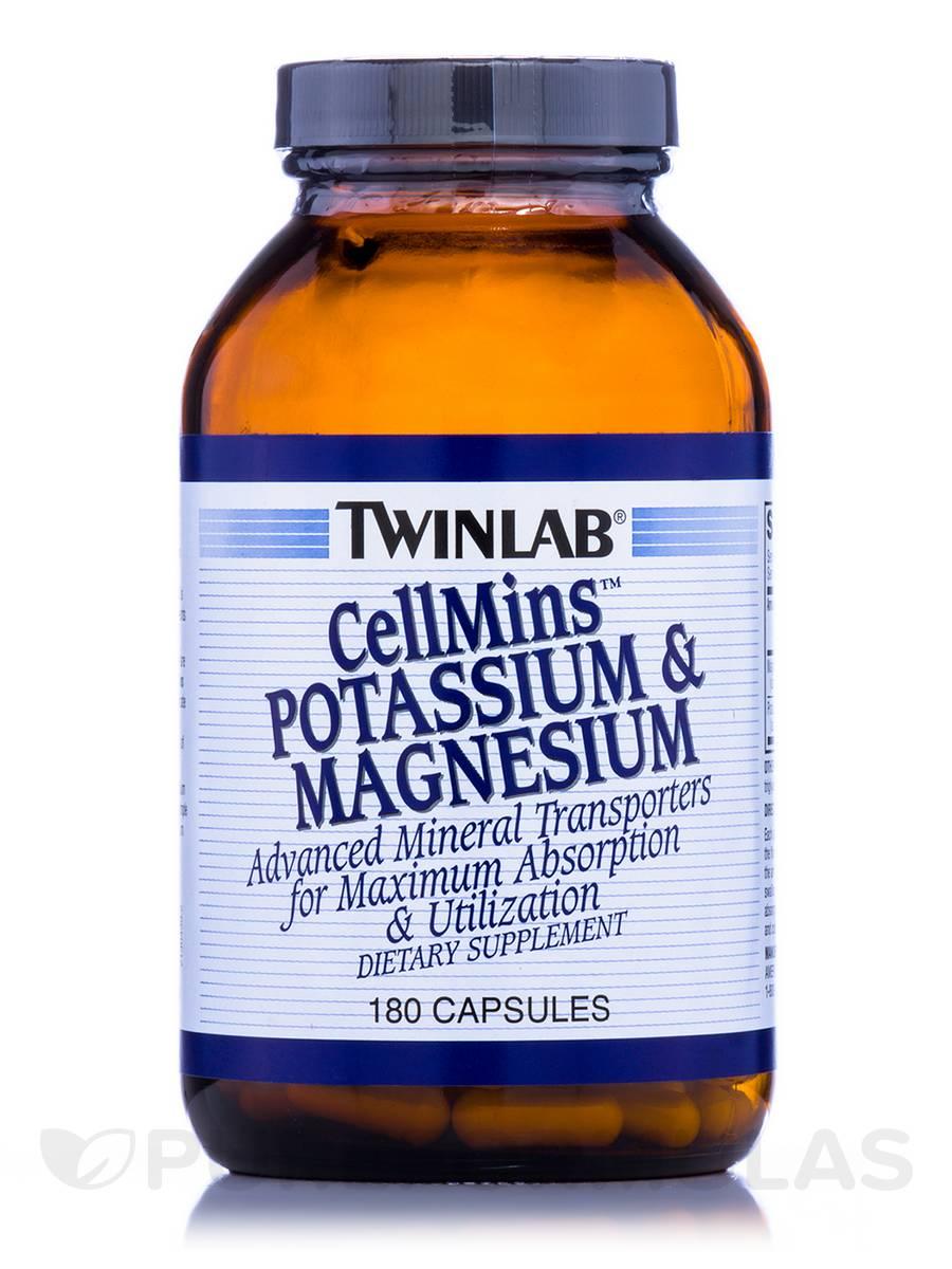 CellMins Potassium & Magnesium - 180 Capsules