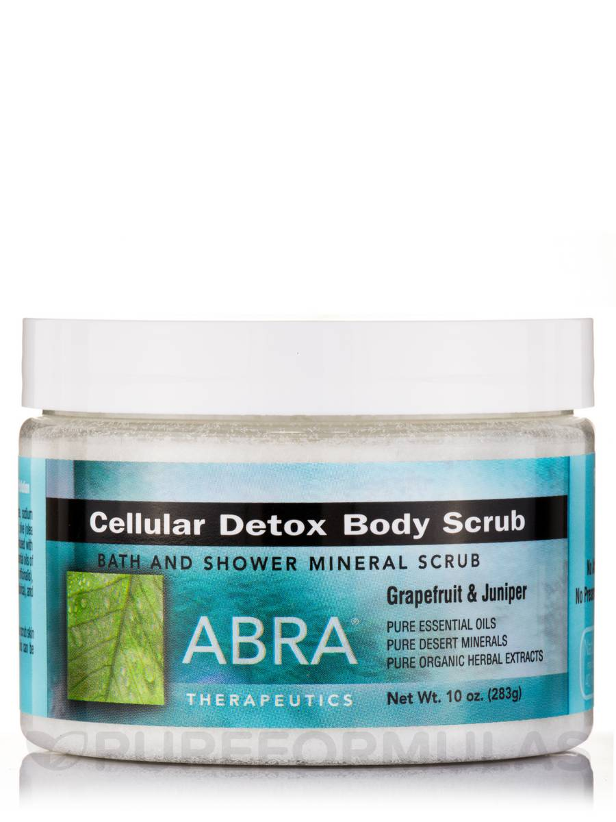 Cellular Detox Body Scrub - Grapefruit & Juniper - 10 oz (283 Grams)