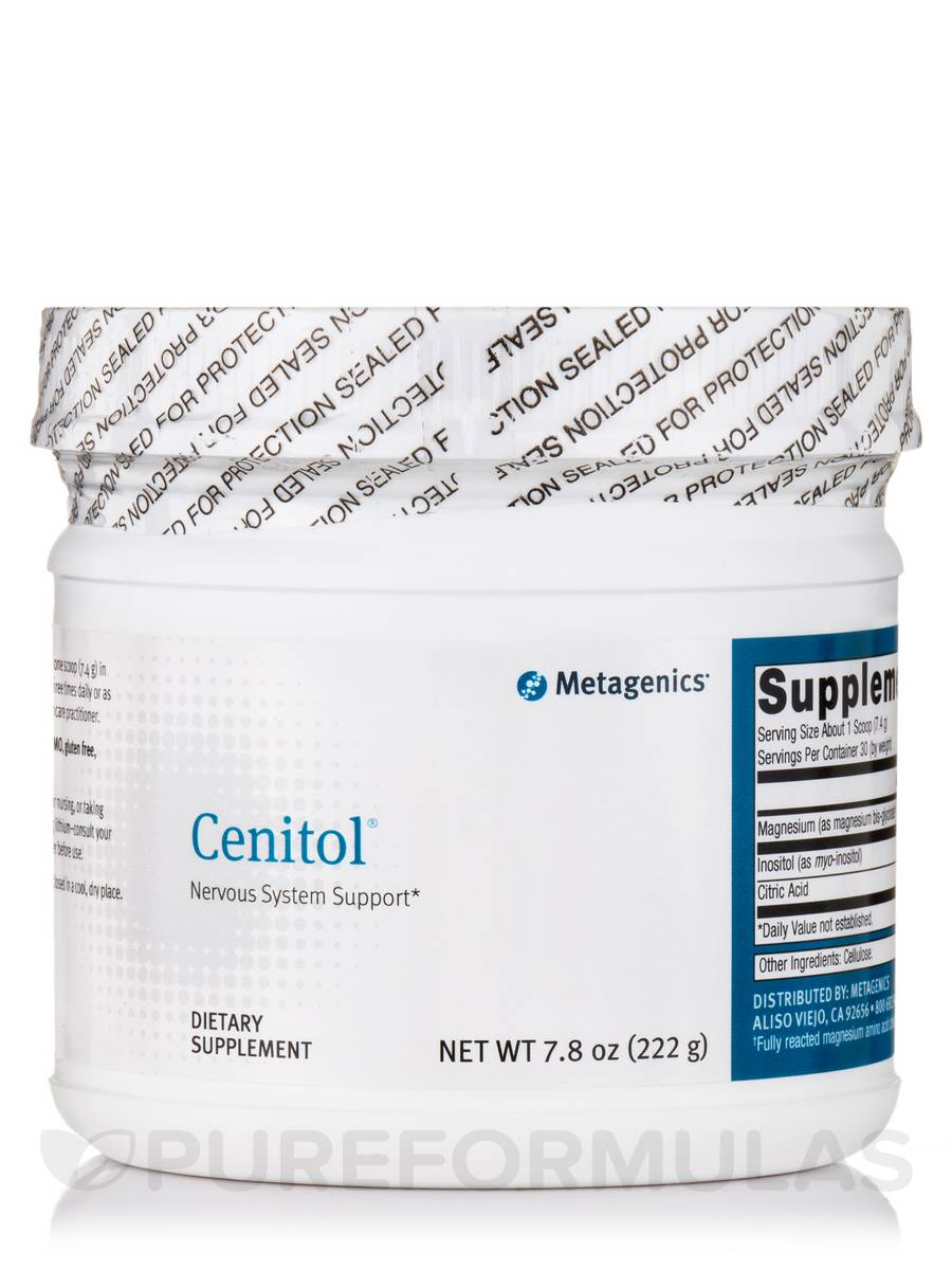 Cenitol Nervous System Support Powder - 7.8 oz (222 Grams)