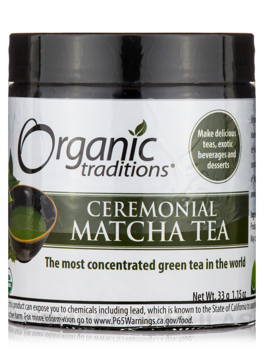 Ceremonial Matcha Tea - 1.15 oz (33 Grams)