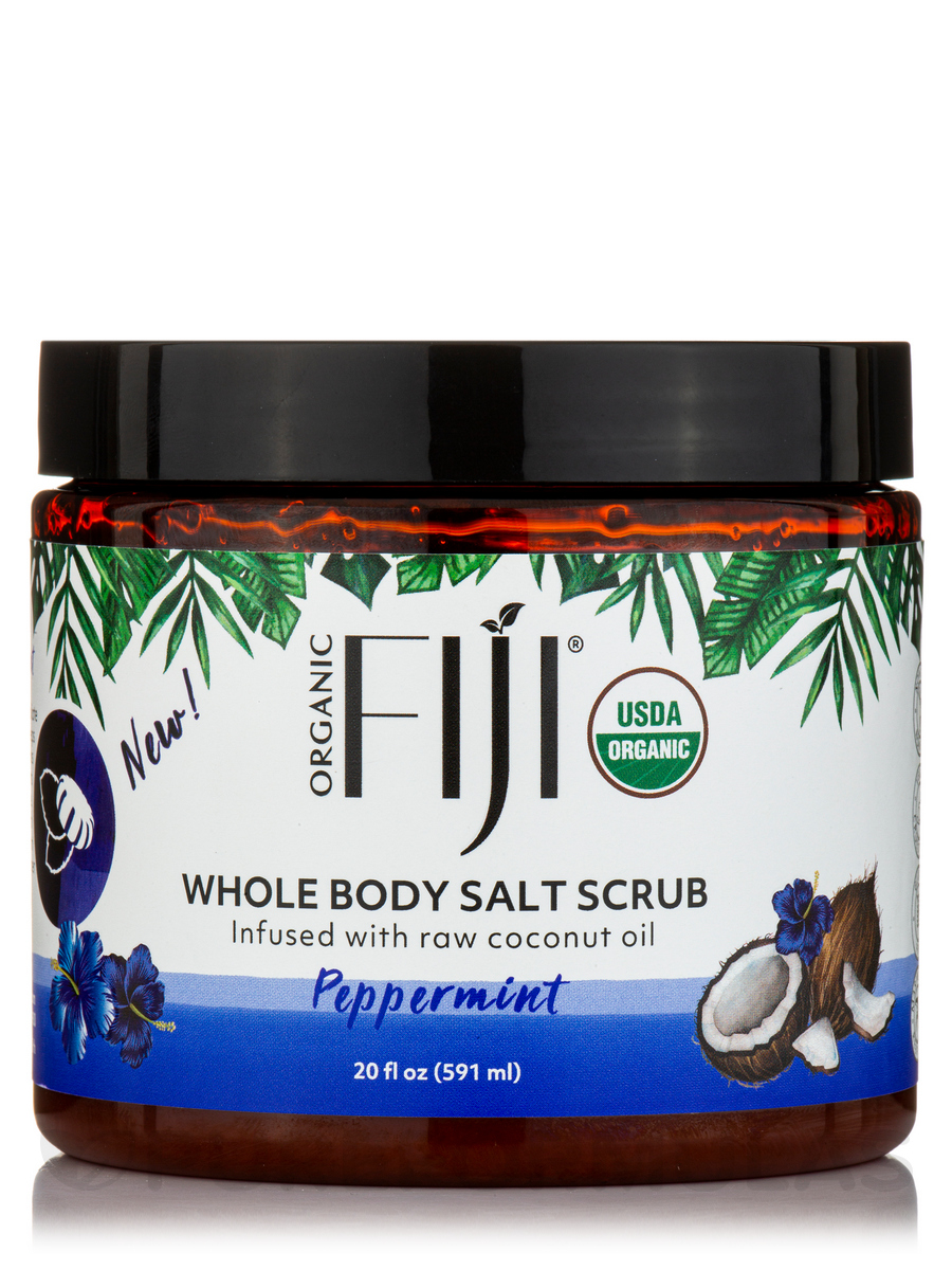 Certified Organic Body Polishing - Coral Sea Salt - 20 oz (566 Grams)