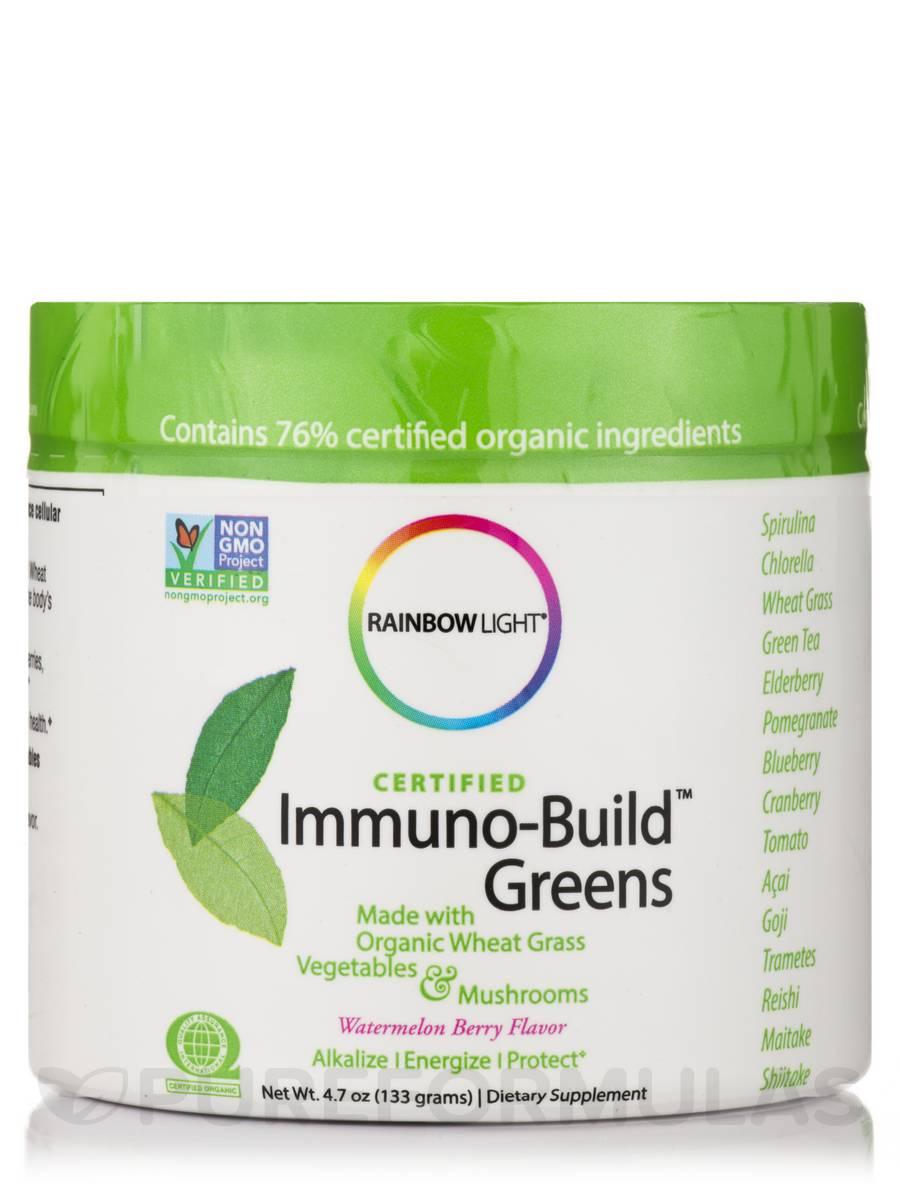 Certified Organics™ Immuno-Build Greens™ - 4.7 oz (133 Grams)