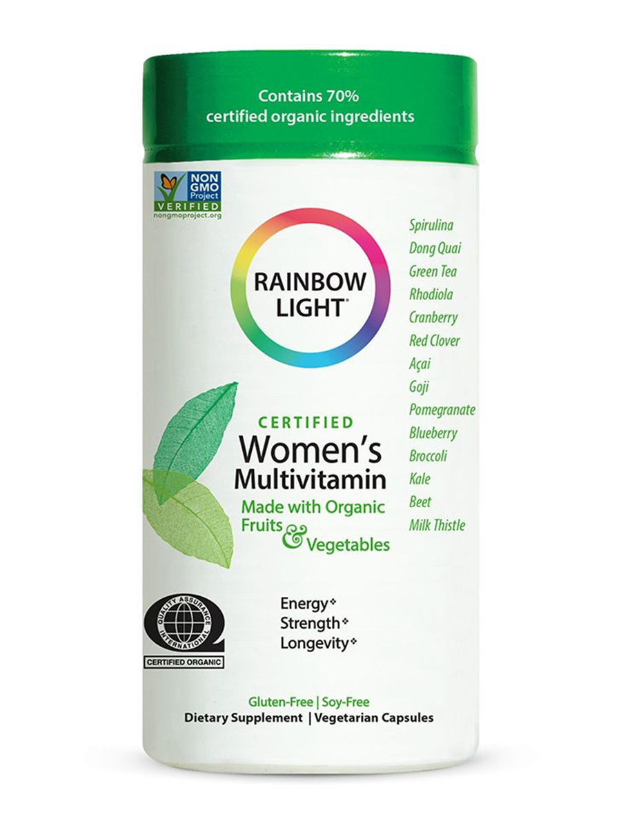 Certified Organics™ Women's Multivitamin - 120 Vegetarian Capsules