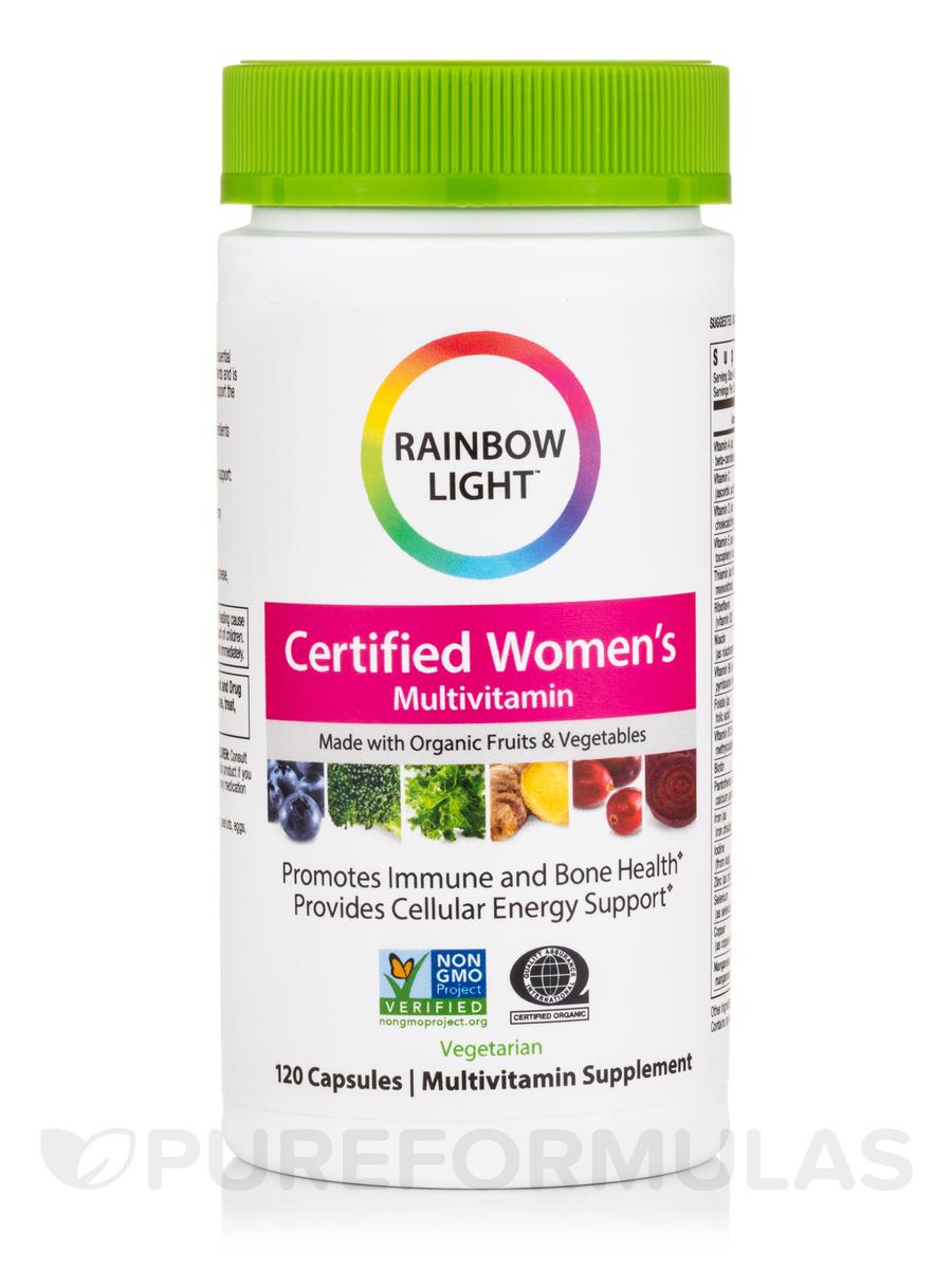 Certified Organics™ Women's Multivitamin - 120 Vegetarian Capsules