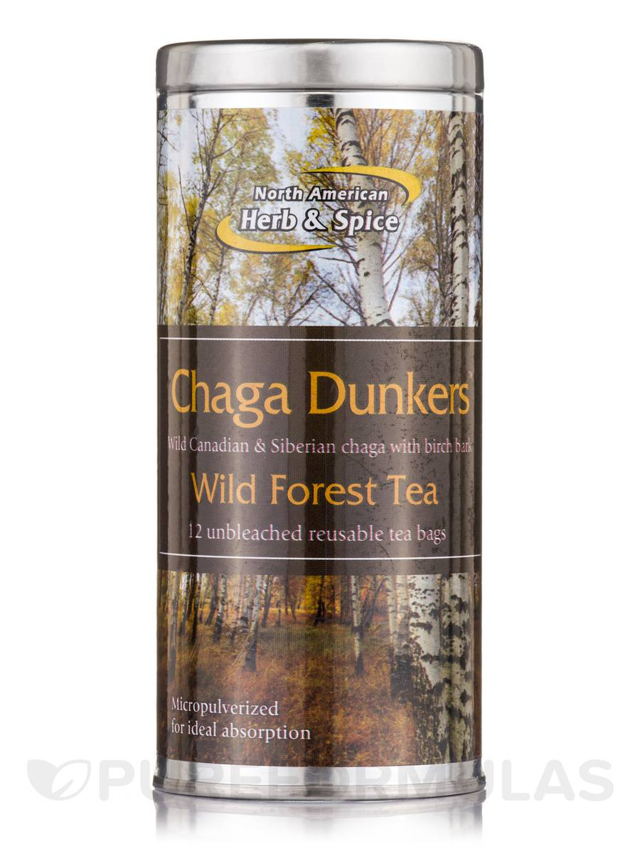 Chaga Dunkers - 12 Tea Bags