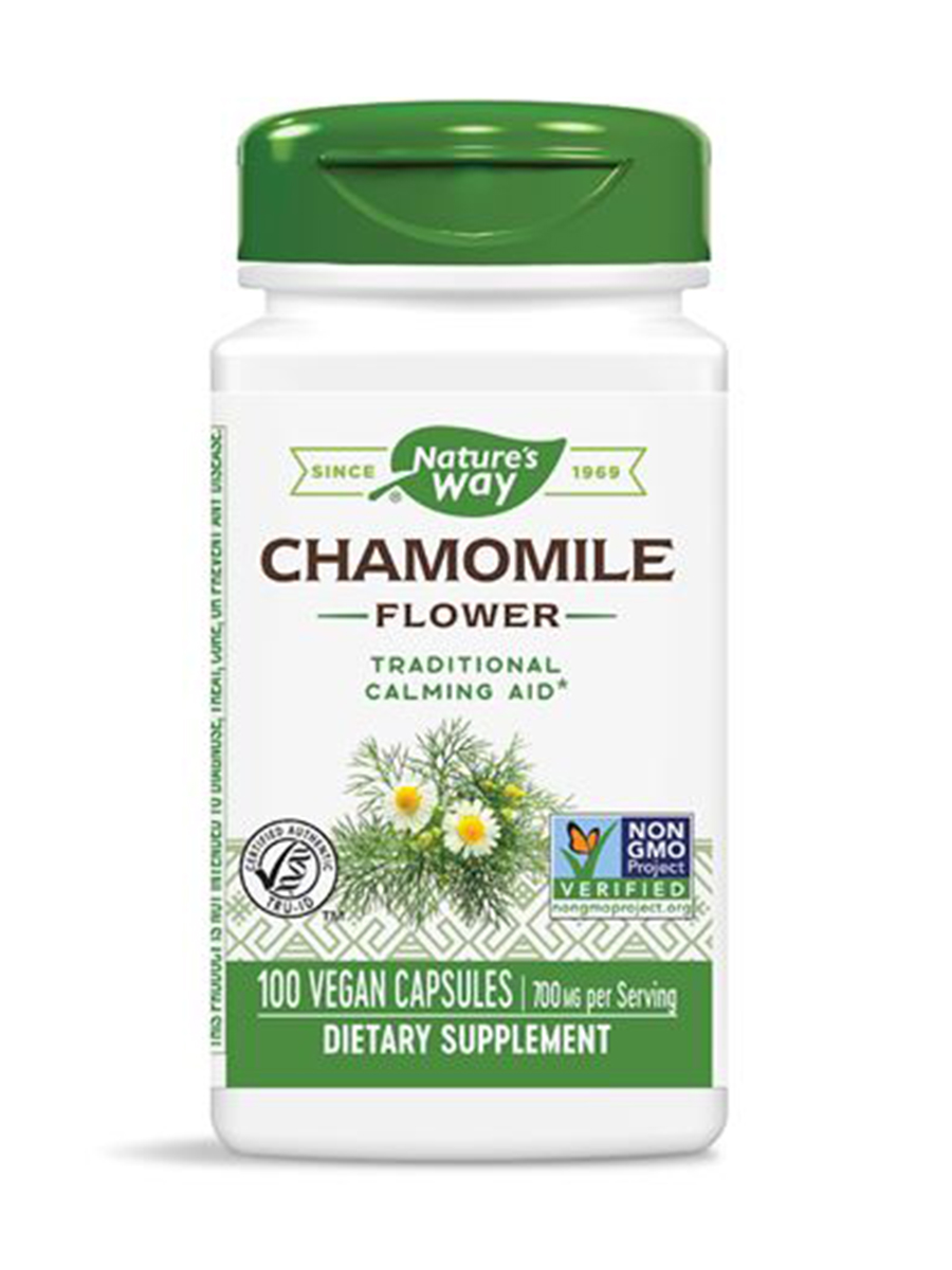 Chamomile Flowers - 100 Capsules