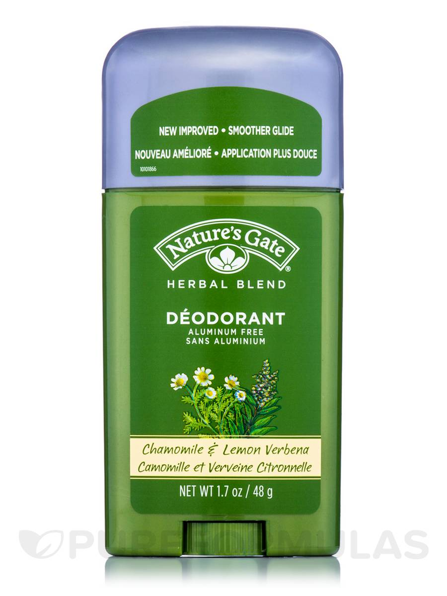 Chamomile & Lemon Verbena Deodorant Stick - 1.7 oz (48 Grams)