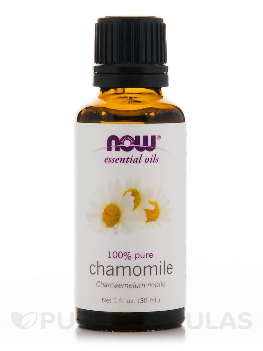 NOW® Essential Oils - Chamomile Oil - 1 fl. oz (30 ml)