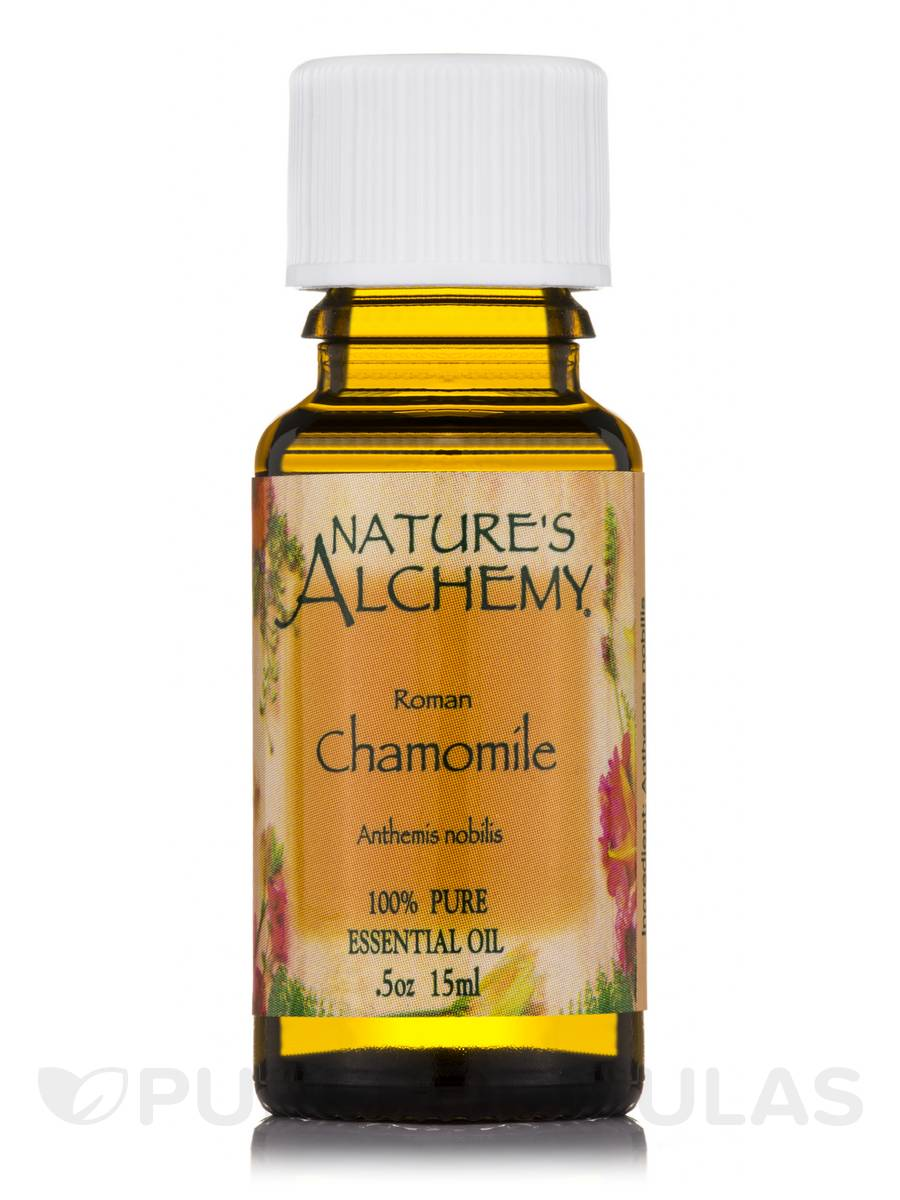 Roman Chamomile Pure Essential Oil - 0.5 oz (15 ml)