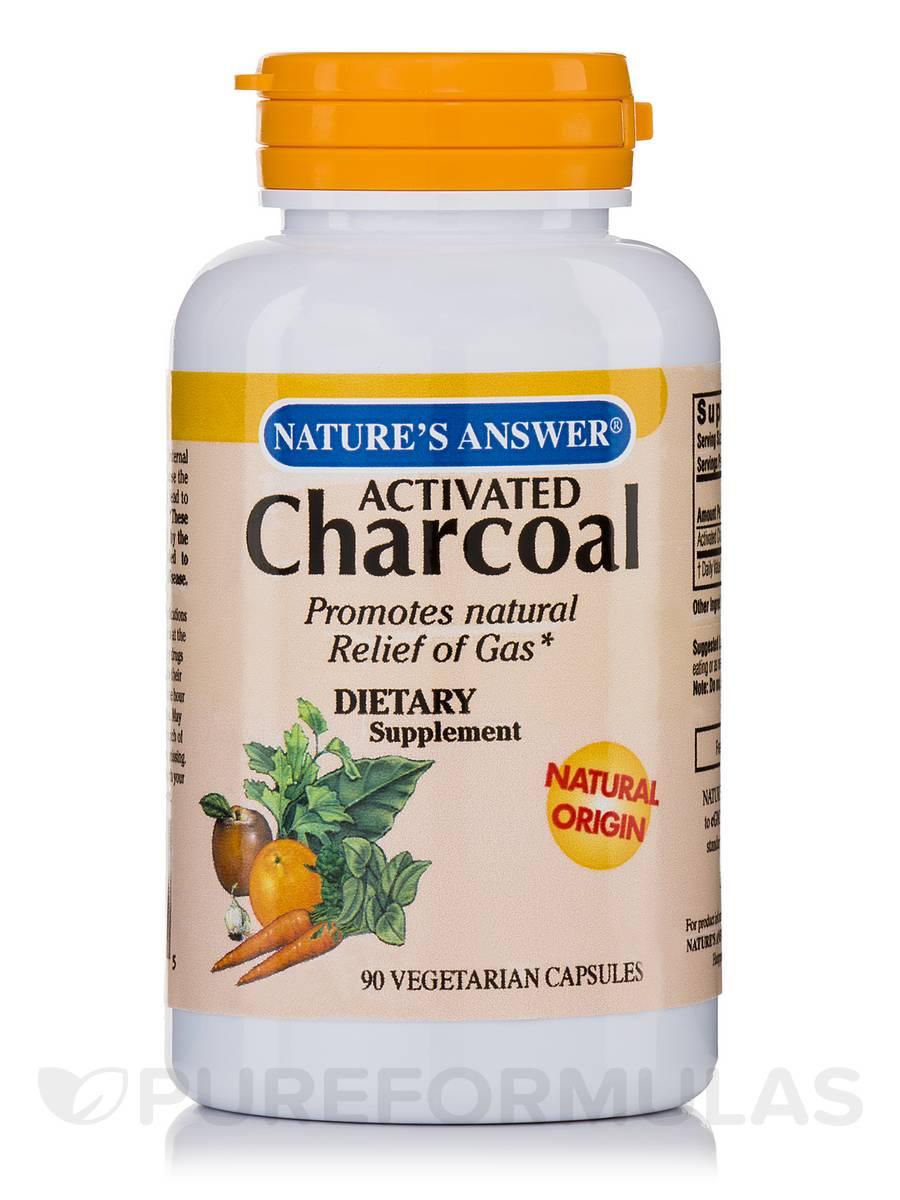 Charcoal - 90 Vegetarian Capsules