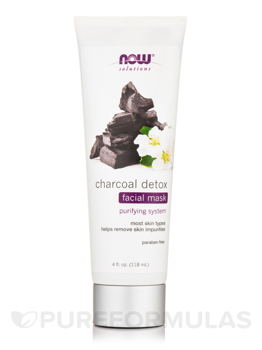 Charcoal Detox Facial Mask - 4 fl. oz (118 ml)