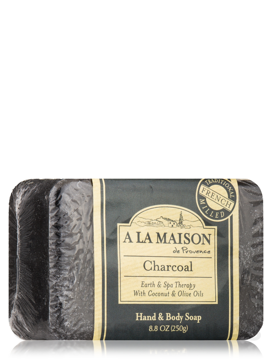Charcoal Soap Bar - 8.8 oz (250 Grams)