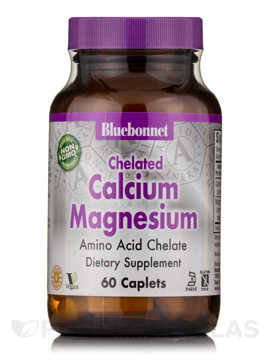 Chelated Calcium Magnesium - 60 Caplets