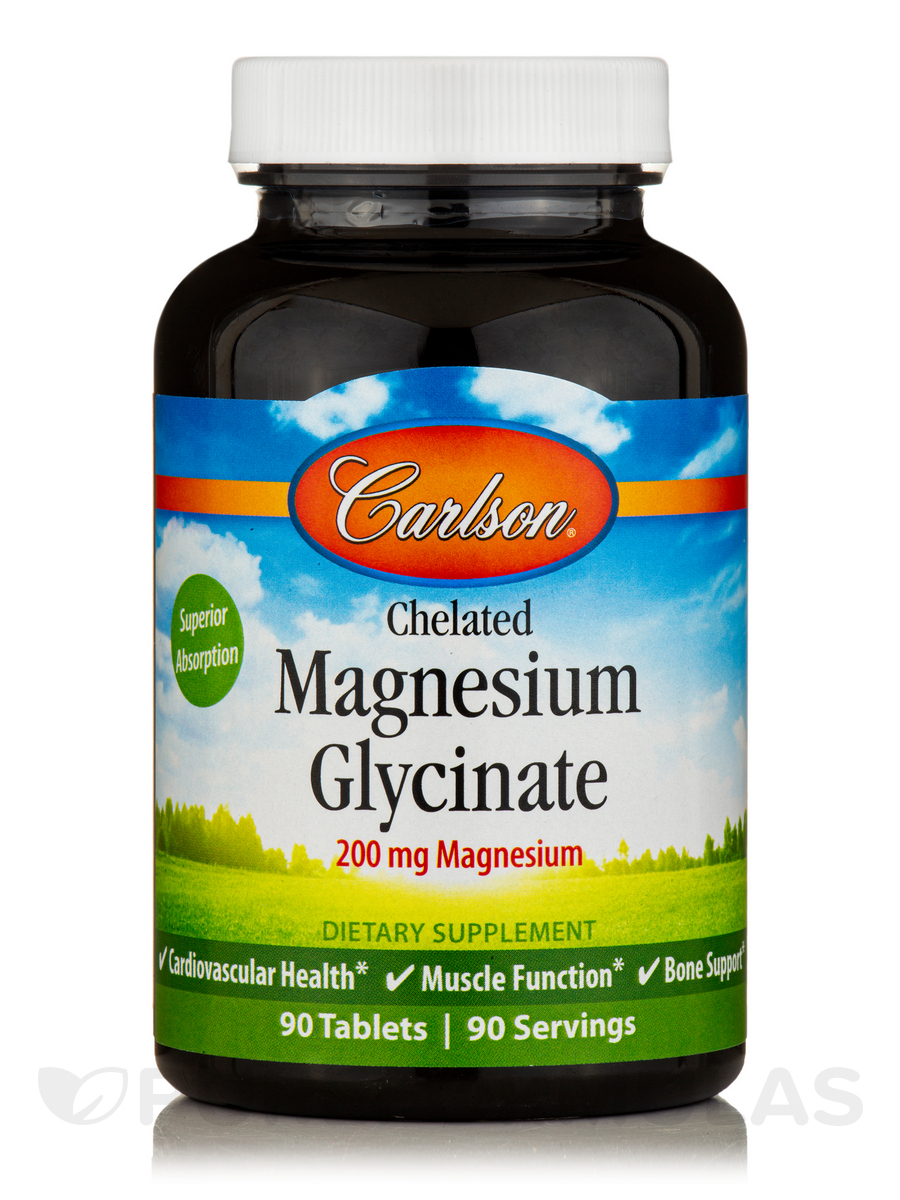 Chelated Magnesium - 90 Tablets