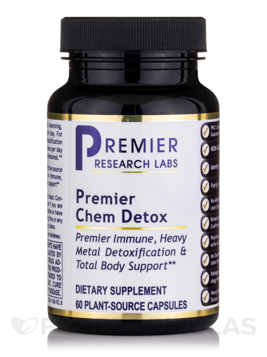 Premier Chem Detox - 60 Vegetable Capsules