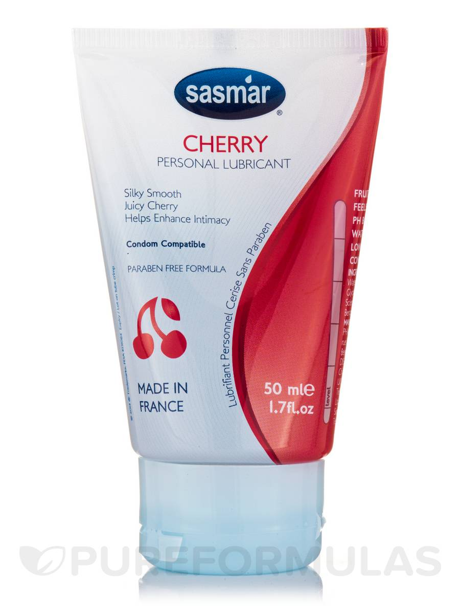 Cherry Flavored Personal Lubricant Tube - 1.7 fl. oz (50 ml)