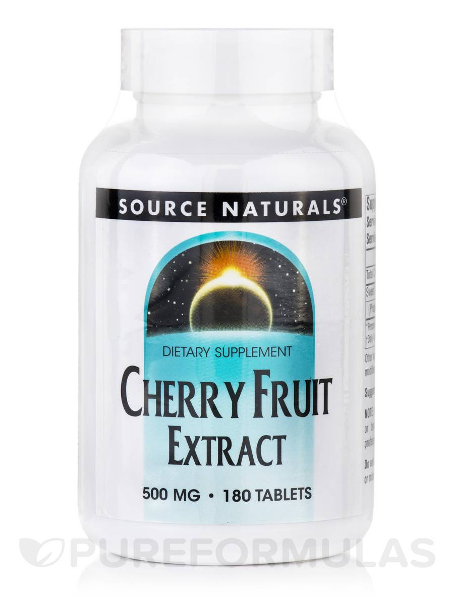 Cherry Fruit Extract 500 mg - 180 Tablets