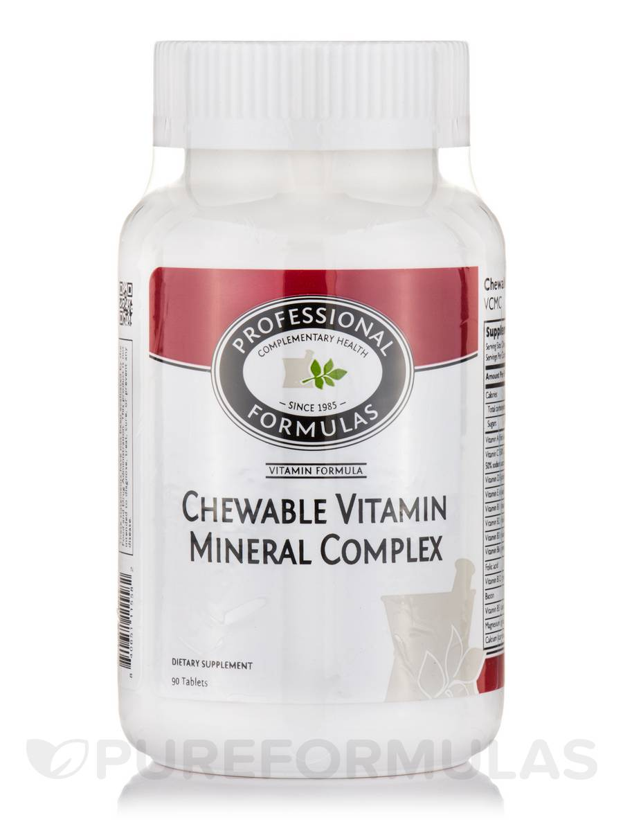 Chewable Vitamin Mineral Complex - 90 Tablets