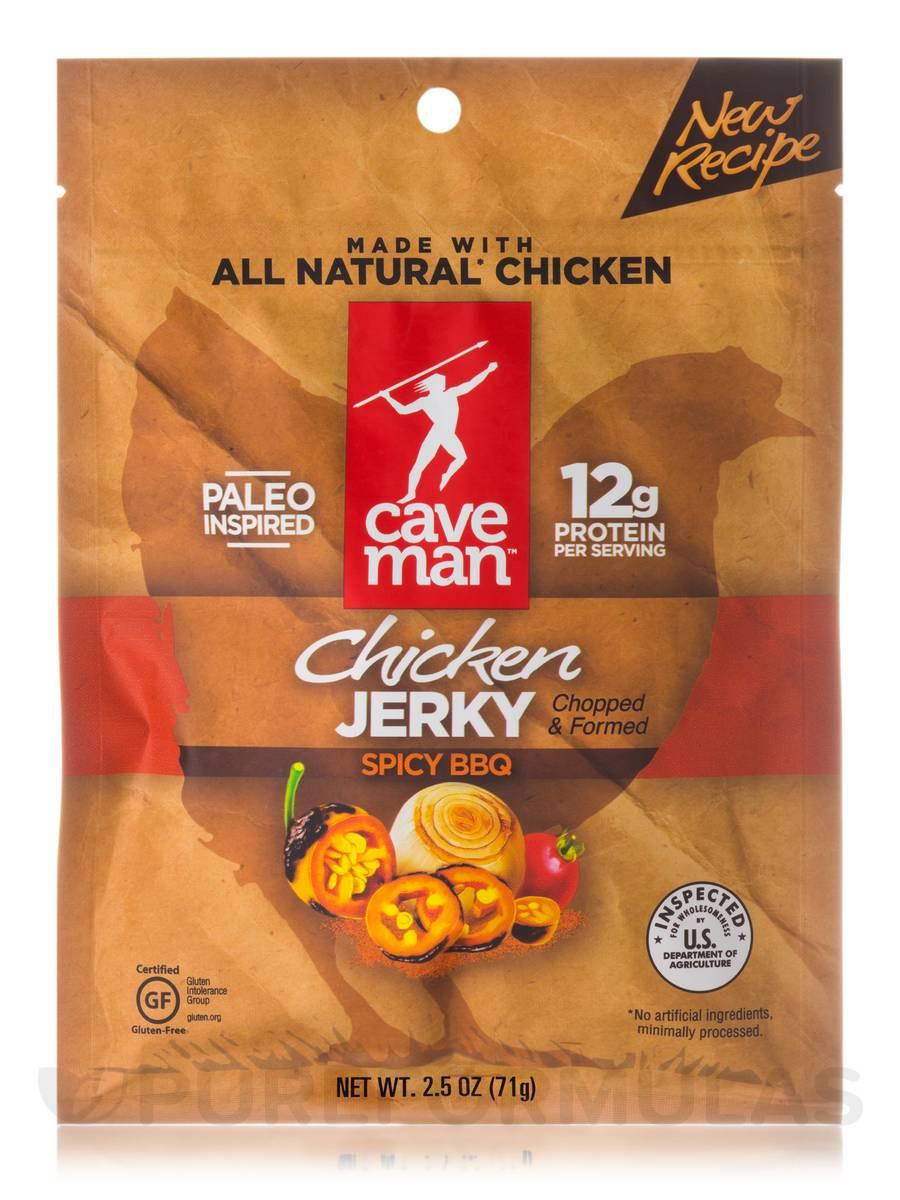 Chicken Jerky, Spicy BBQ - 2.5 oz (71 Grams)