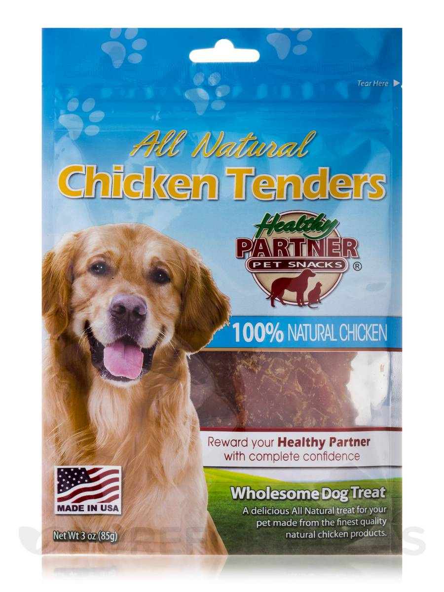 Chicken Tenders Bag - Treats for Dogs - 3 oz (85 Grams)