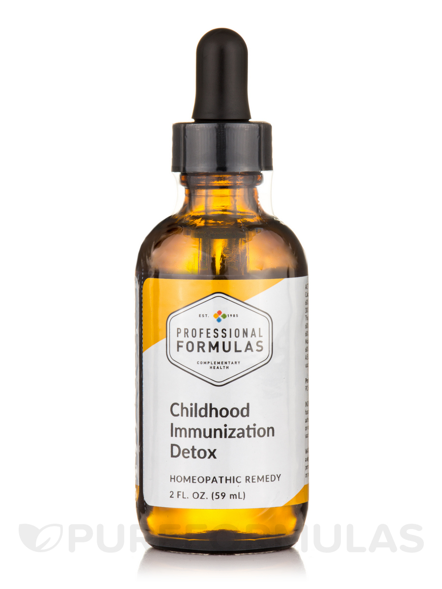 Childhood Immunization Detox - 2 fl. oz (59 ml)
