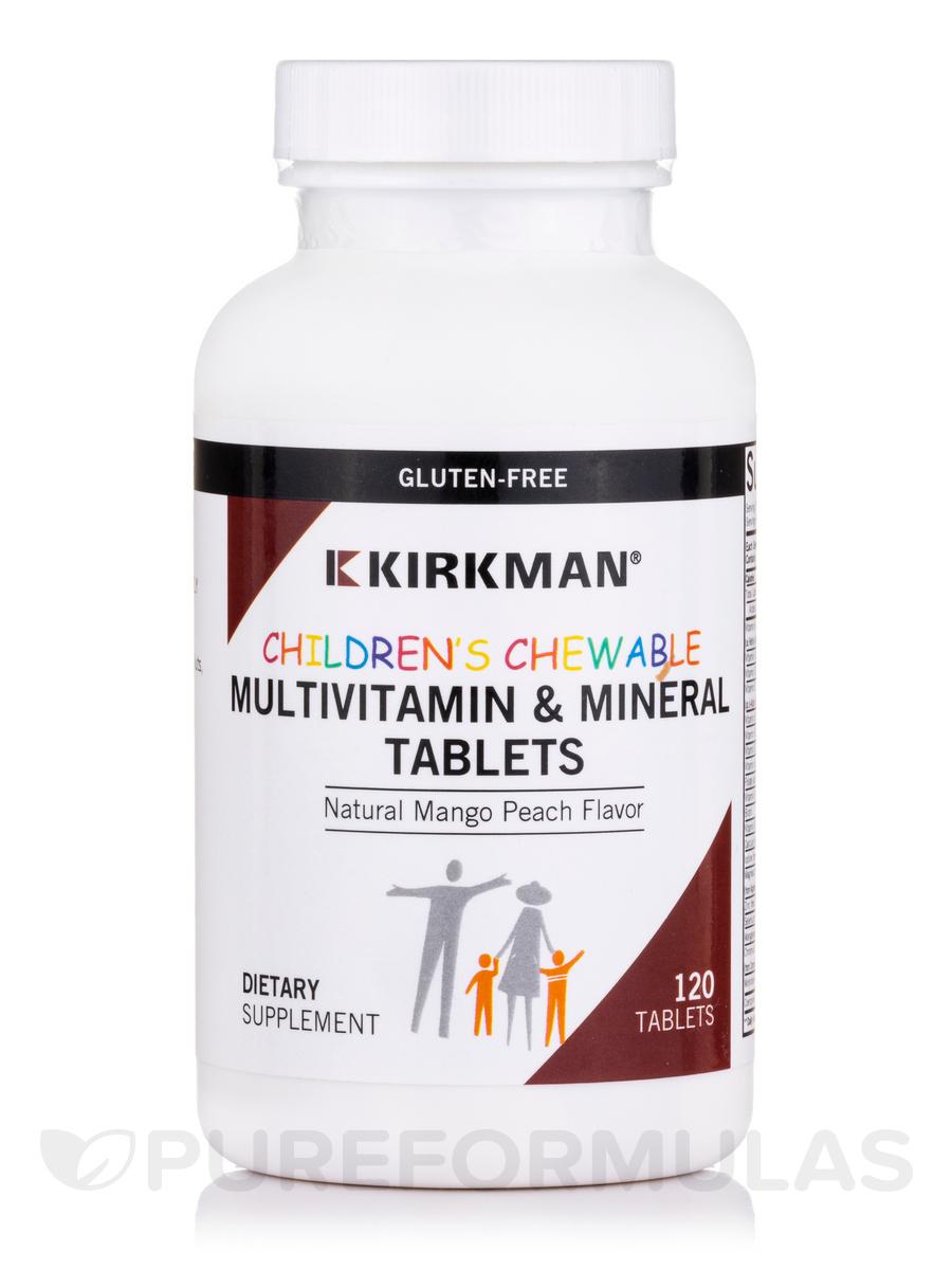 Children's Chewable Multi-Vitamin/Mineral - 120 Chewable Wafers