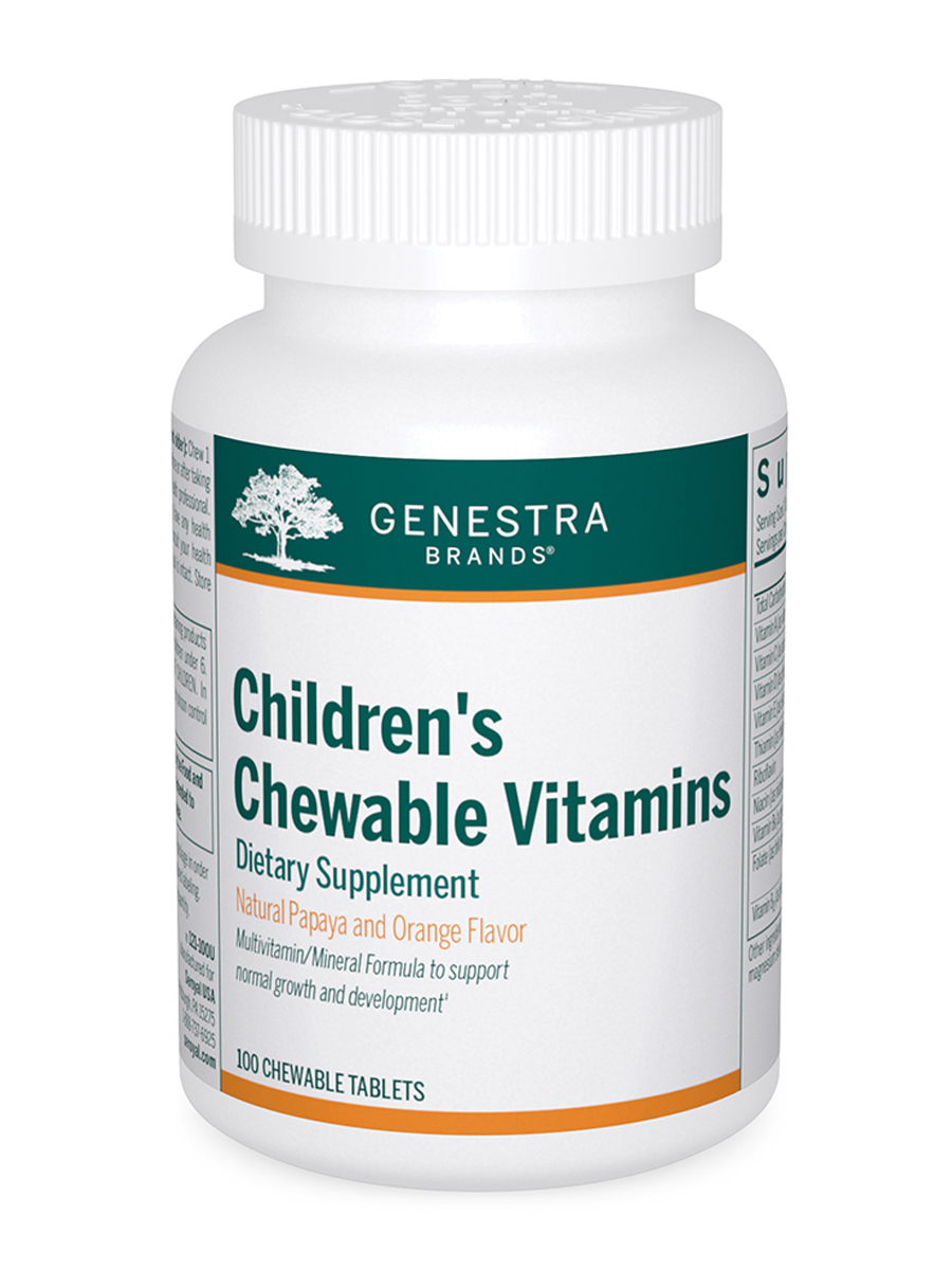 Children's Chewable Vitamins - 100 Chewable Tablets