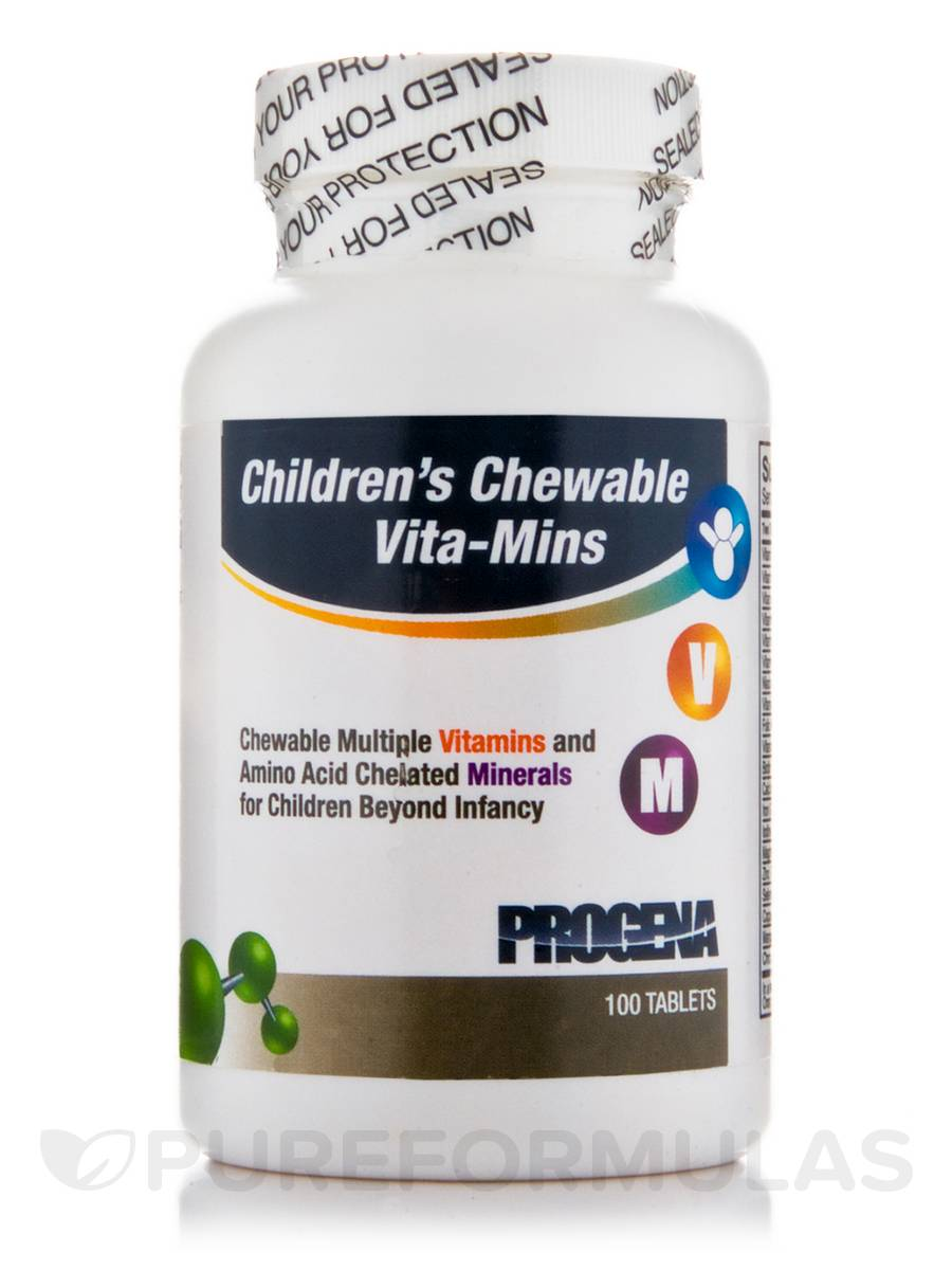 Children's Chewable Vita-Mins - 100 Tablets