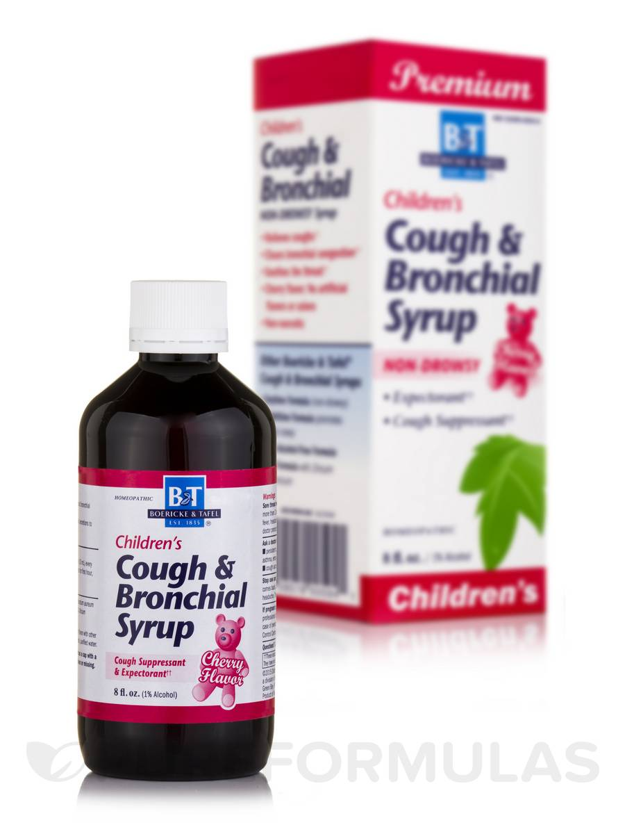 Children's Cough & Bronchial Syrup (Cherry Flavor) - 8 fl. oz