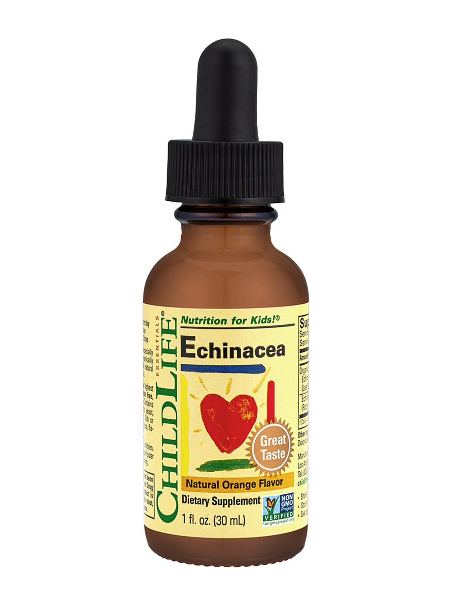 Echinacea Orange Flavor - 1 fl. oz (29.6 ml)