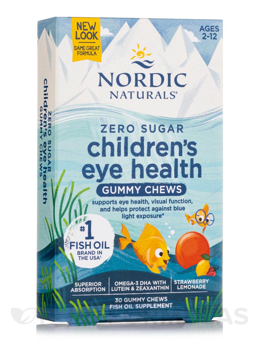 Children's Eye Health Gummies, Strawberry Lemonade Flavor - 30 Gummies