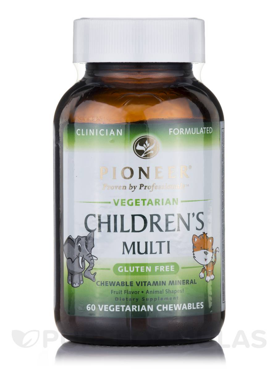 Vegetarian Children's Multi, Fruit Flavor - 60 Vegetarian Chewables