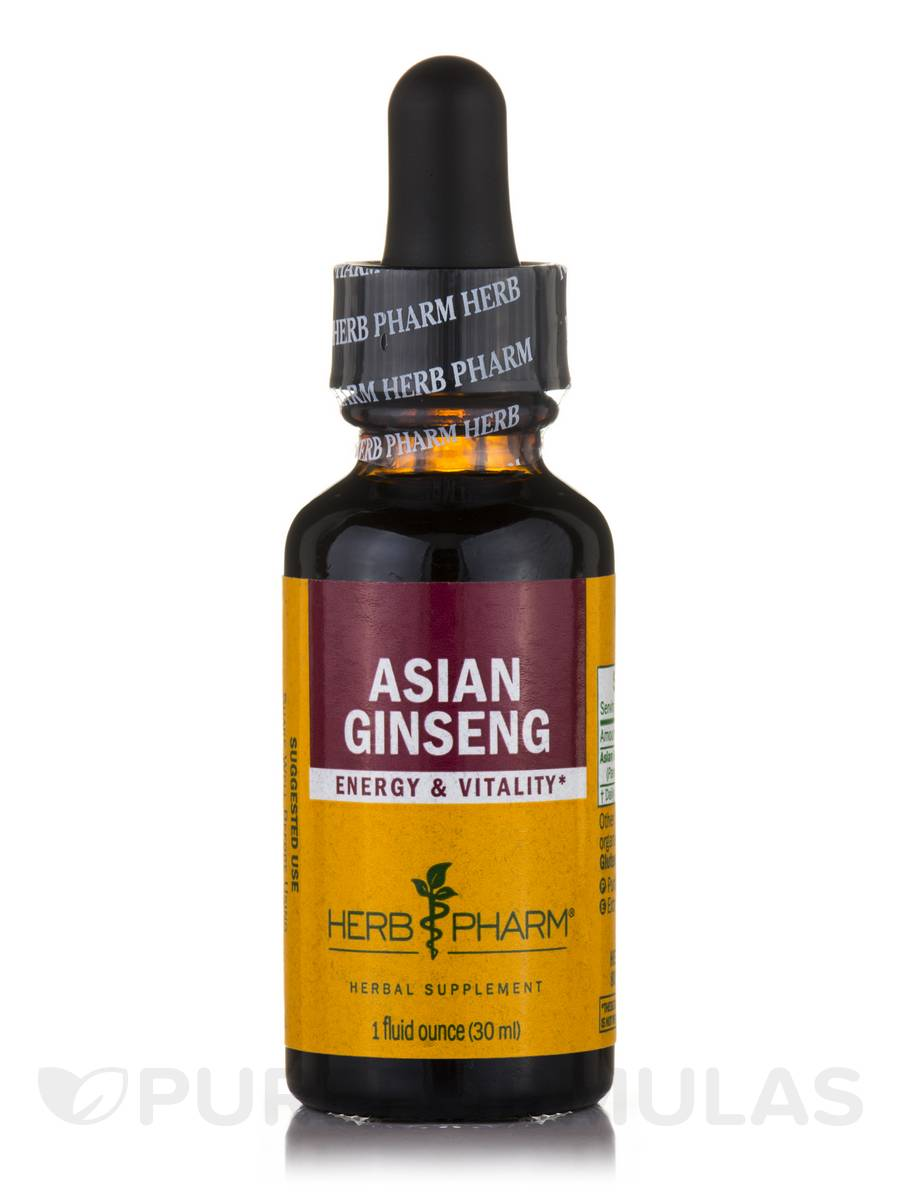 Asian Ginseng - 1 fl. oz (30 ml)