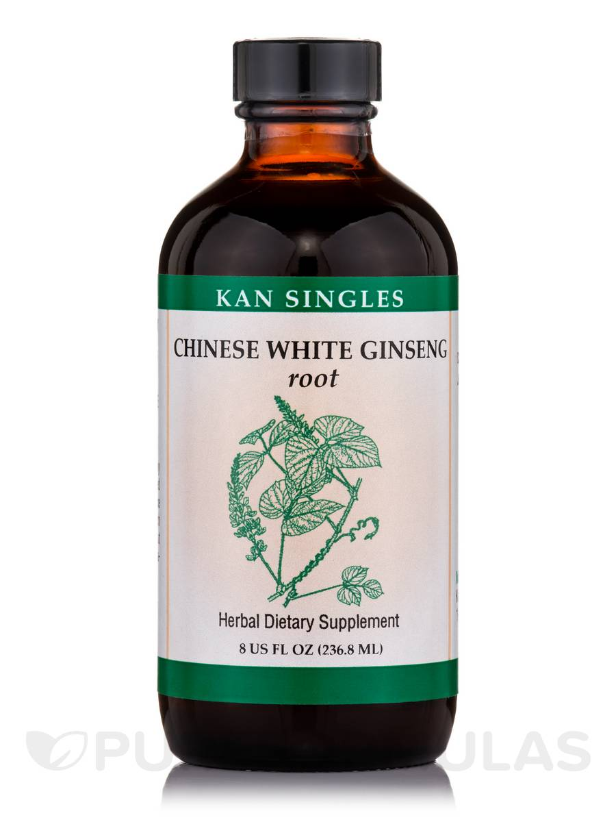 Chinese White Ginseng Root - 8 fl. oz (236.8 ml)