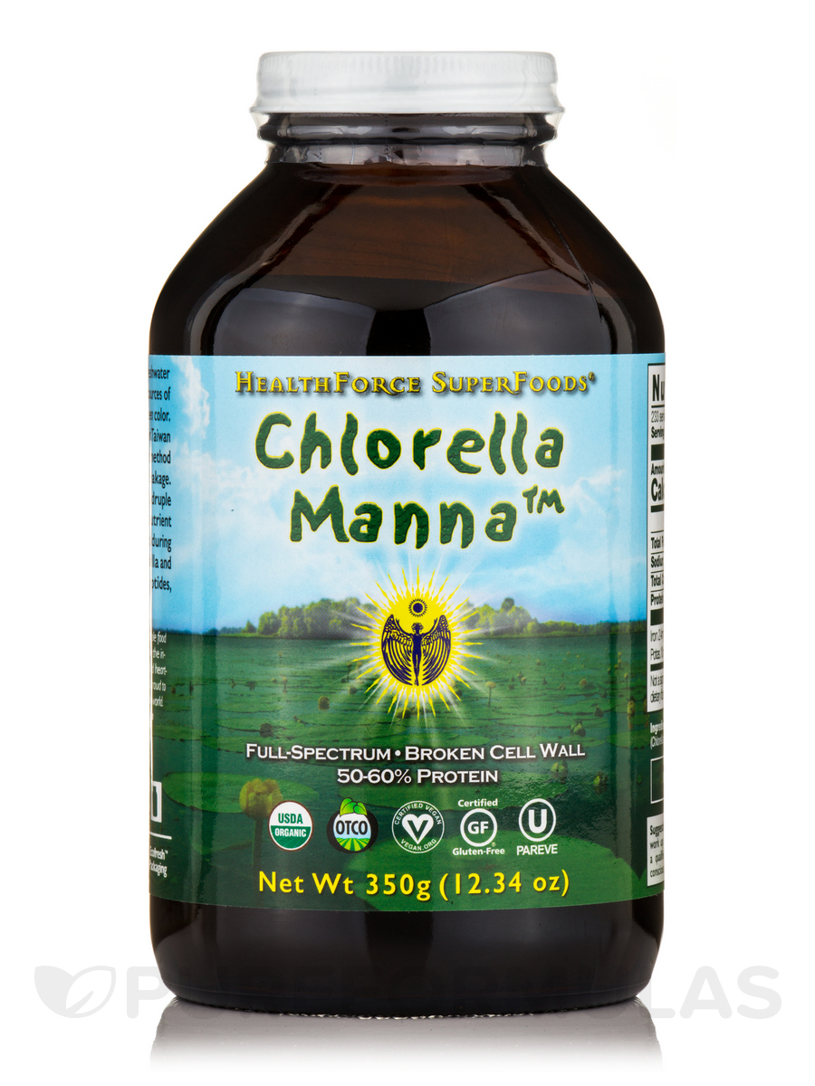 Chlorella Manna™ Powder - 10.58 oz (300 Grams)
