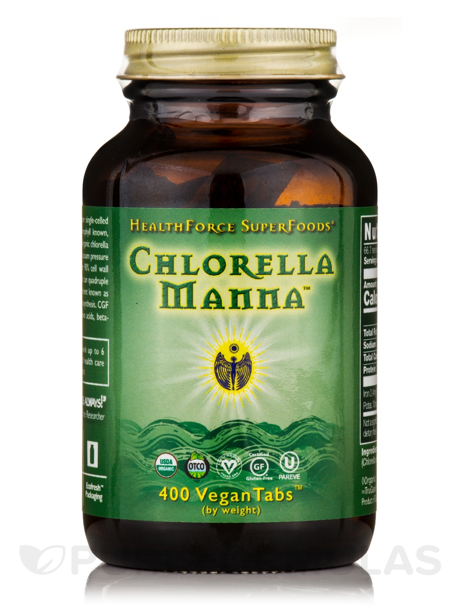 Chlorella Manna™ - 400 VeganTabs™