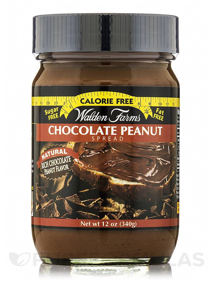 Chocolate Peanut Spread Jar - 12 oz (340 Grams)