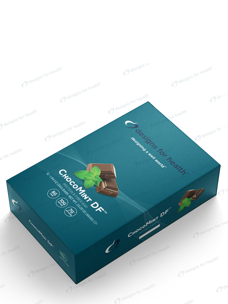 ChocoMint DF™ Protein & Fiber Bar - Box of 12 Bars