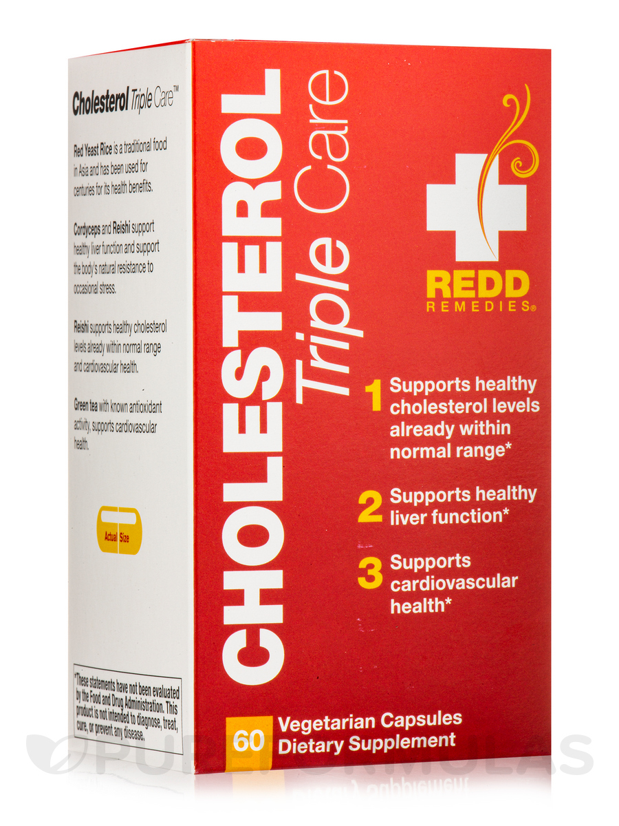Cholesterol Triple Care - 60 Vegetarian Capsules