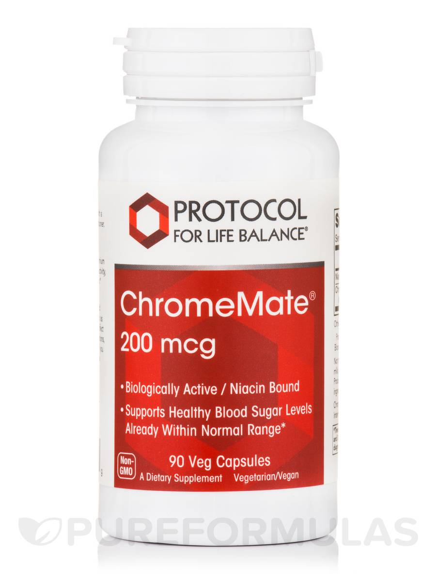 ChromeMate® 200 mcg - 90 Veg Capsules