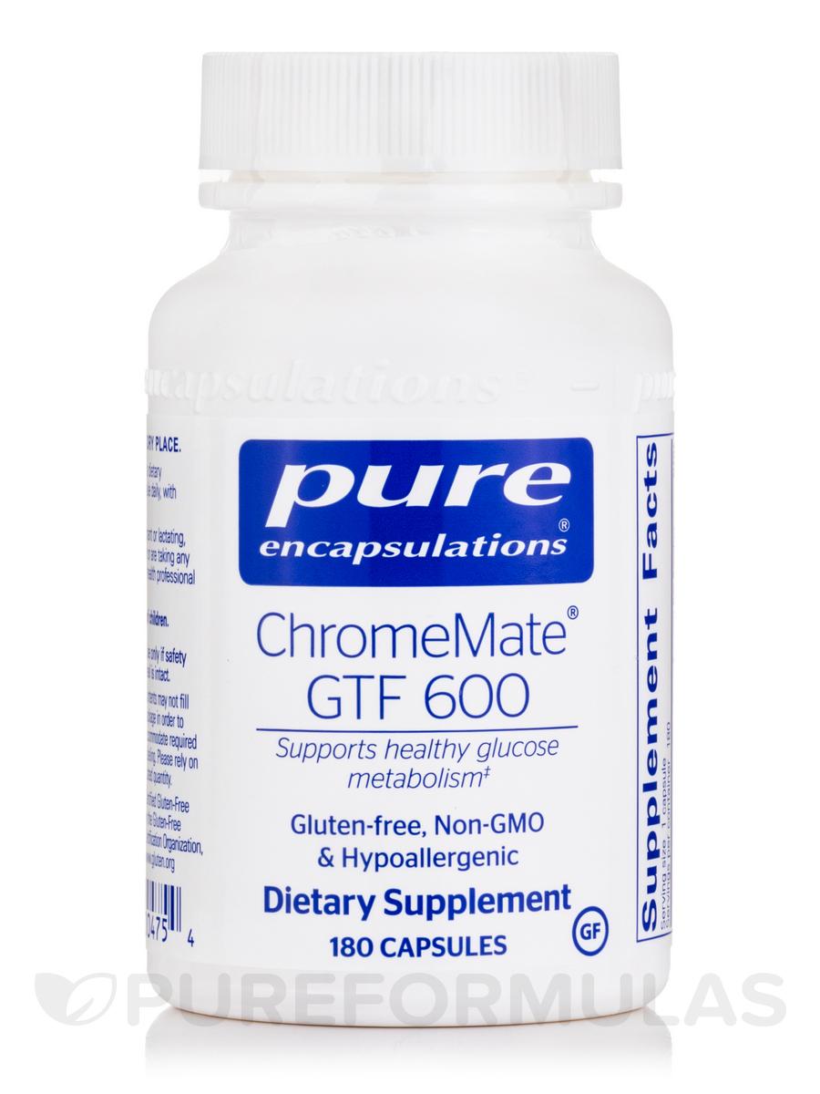 ChromeMate GTF 600 - 180 Capsules