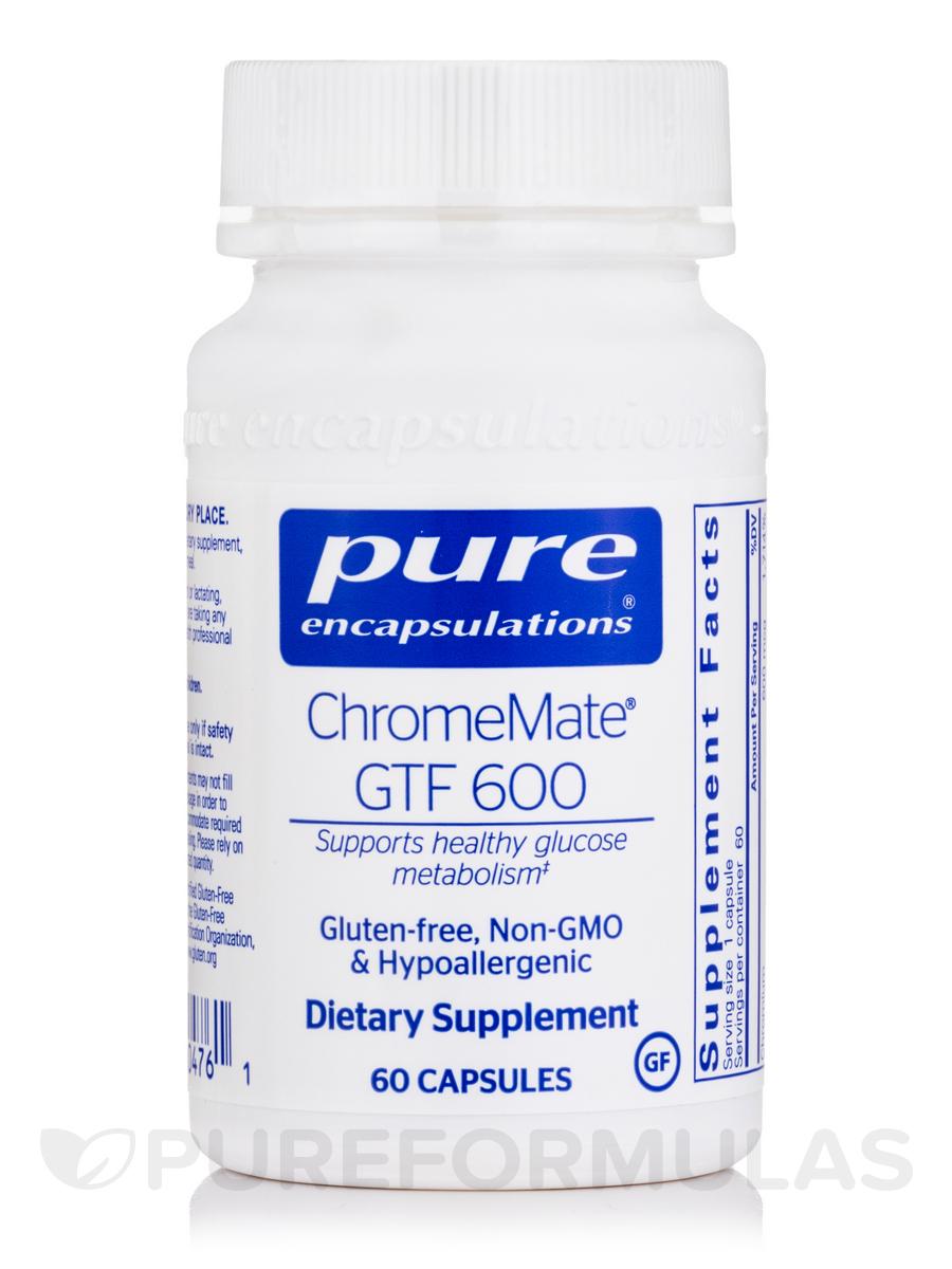 ChromeMate® GTF 600 - 60 Capsules