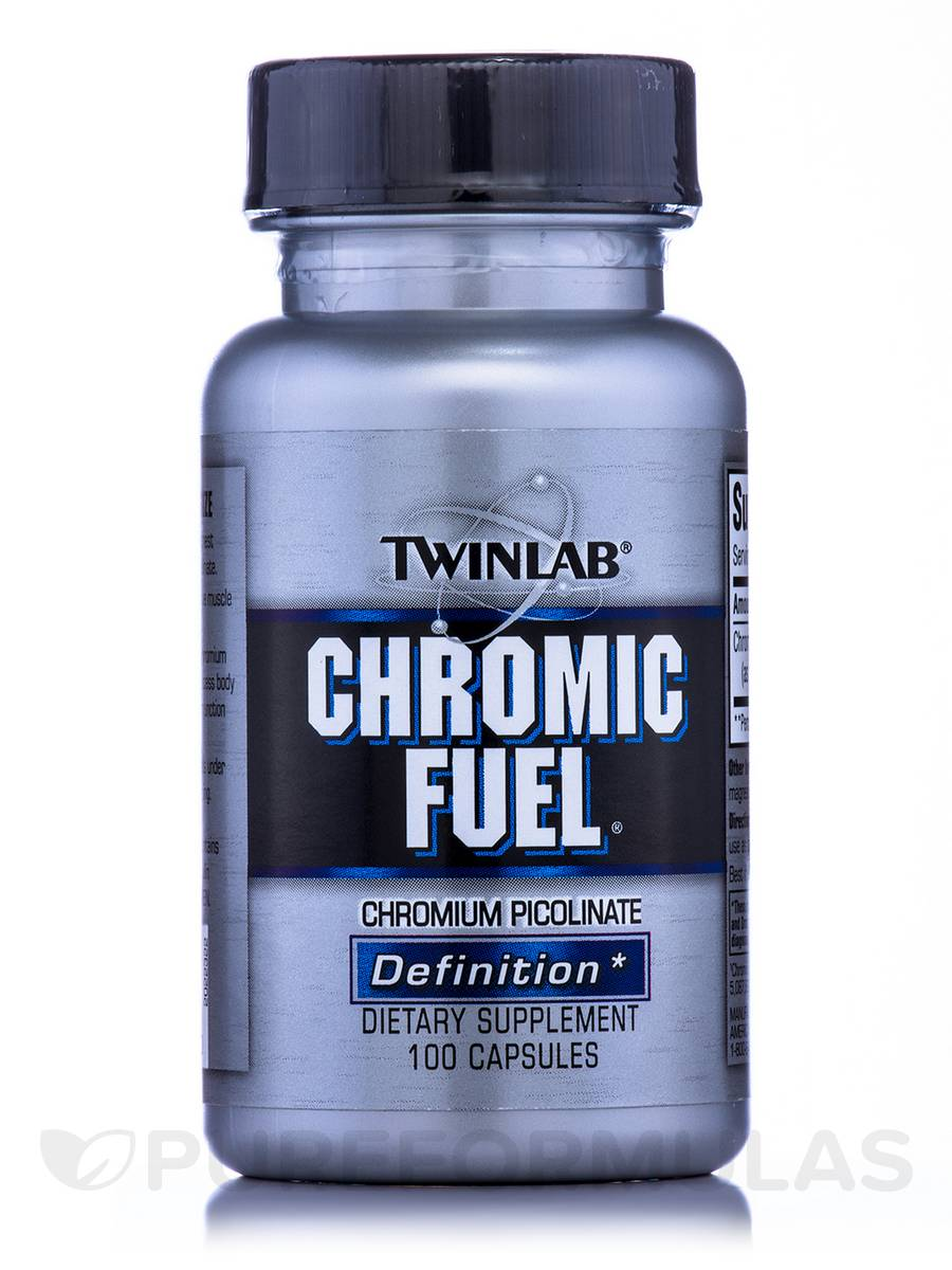Chromic Fuel Chromium Picolinate 200 mcg - 100 Capsules