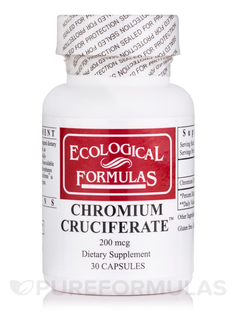 Chromium Cruciferate 200 mcg - 30 Capsules