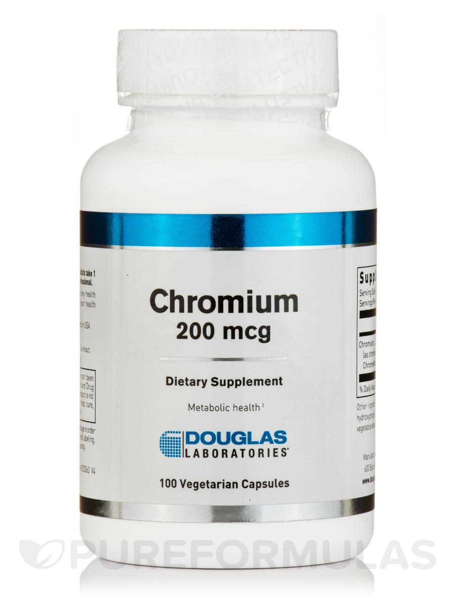 Chromium GTF 200 - 100 Vegetarian Capsules