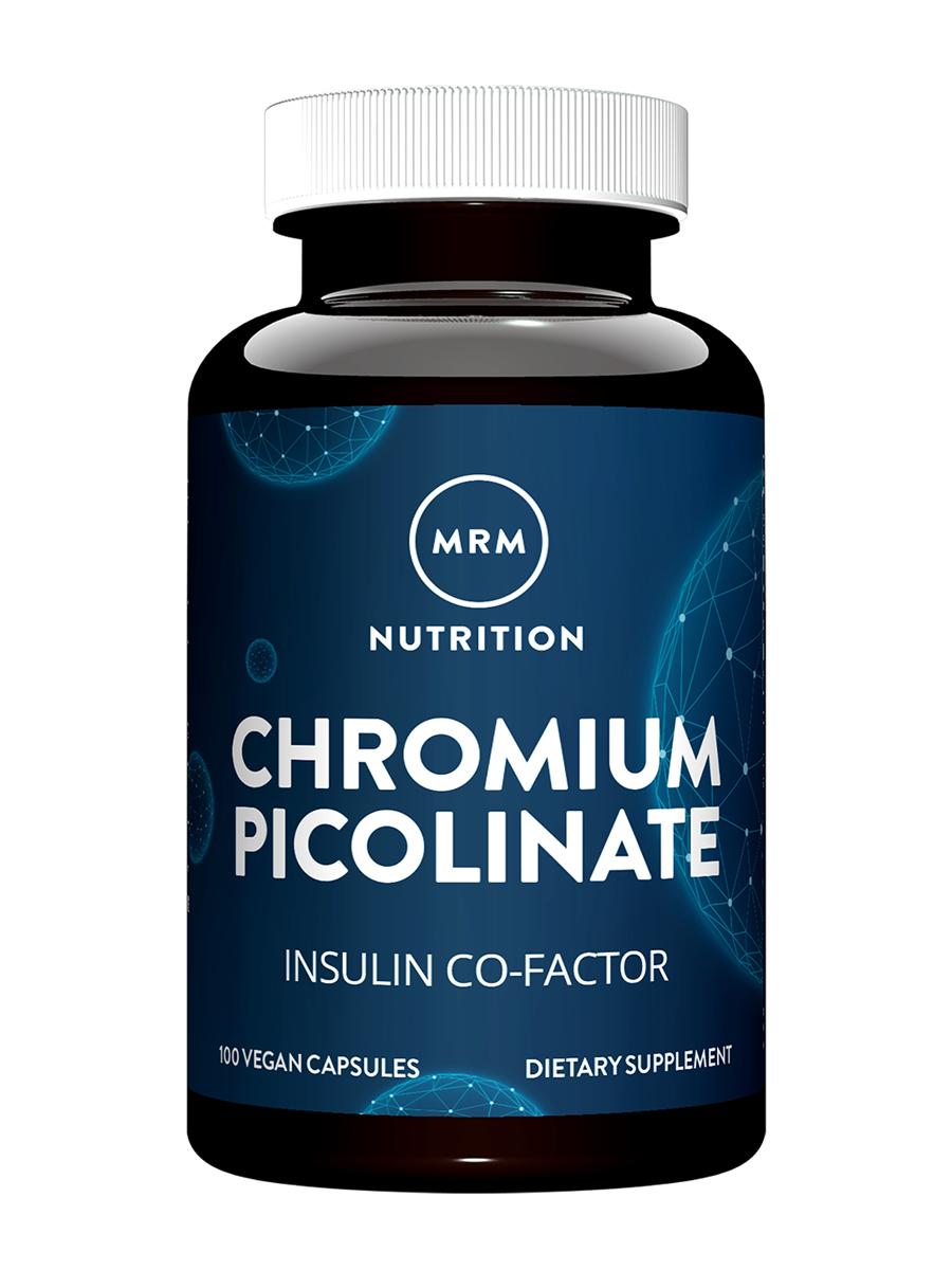Chromium Picolinate - 100 Vegan Capsules