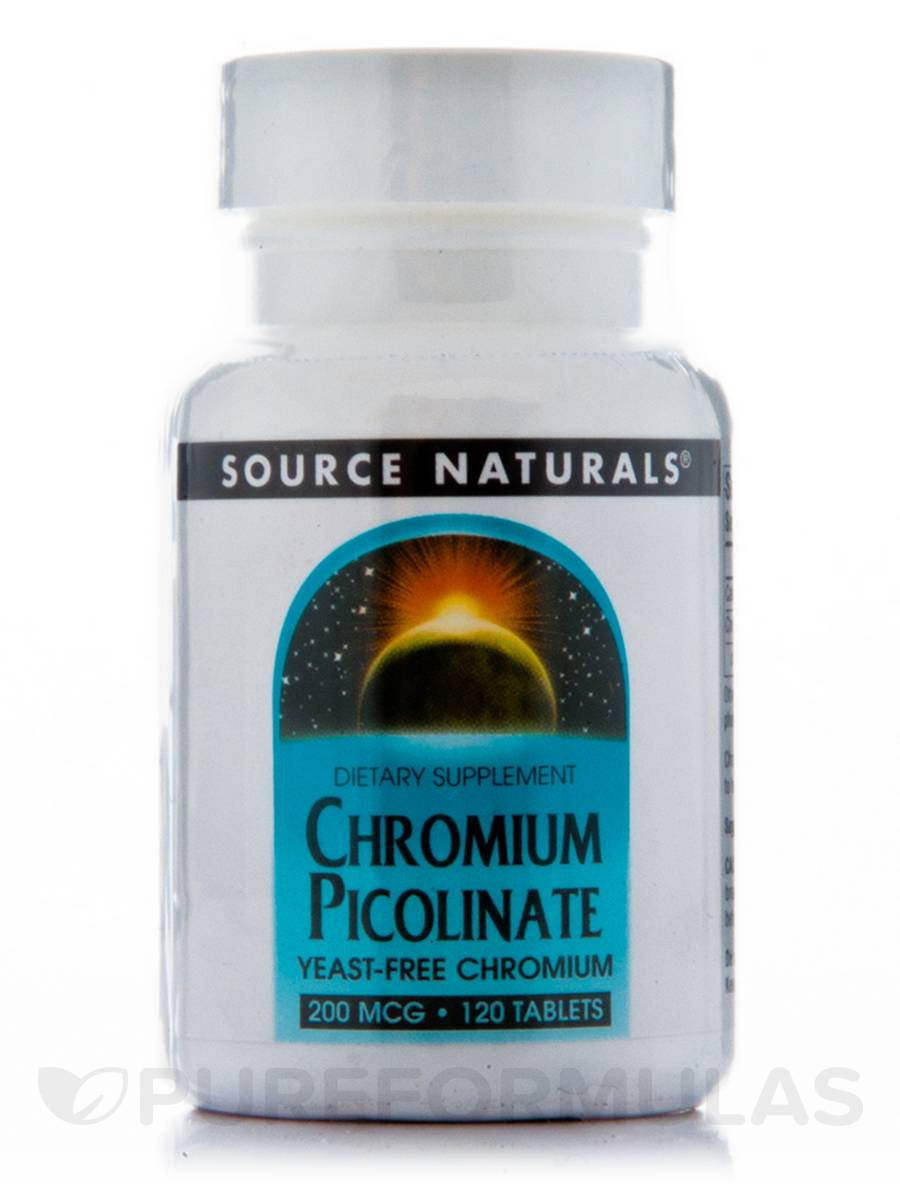 Chromium Picolinate 200 mcg - 120 Tablets