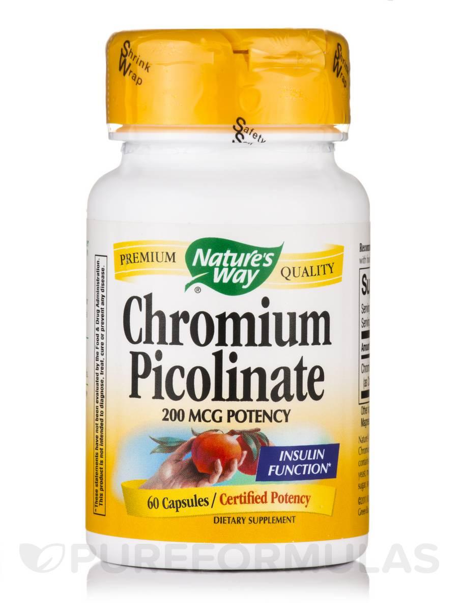 Chromium Picolinate - 60 Capsules