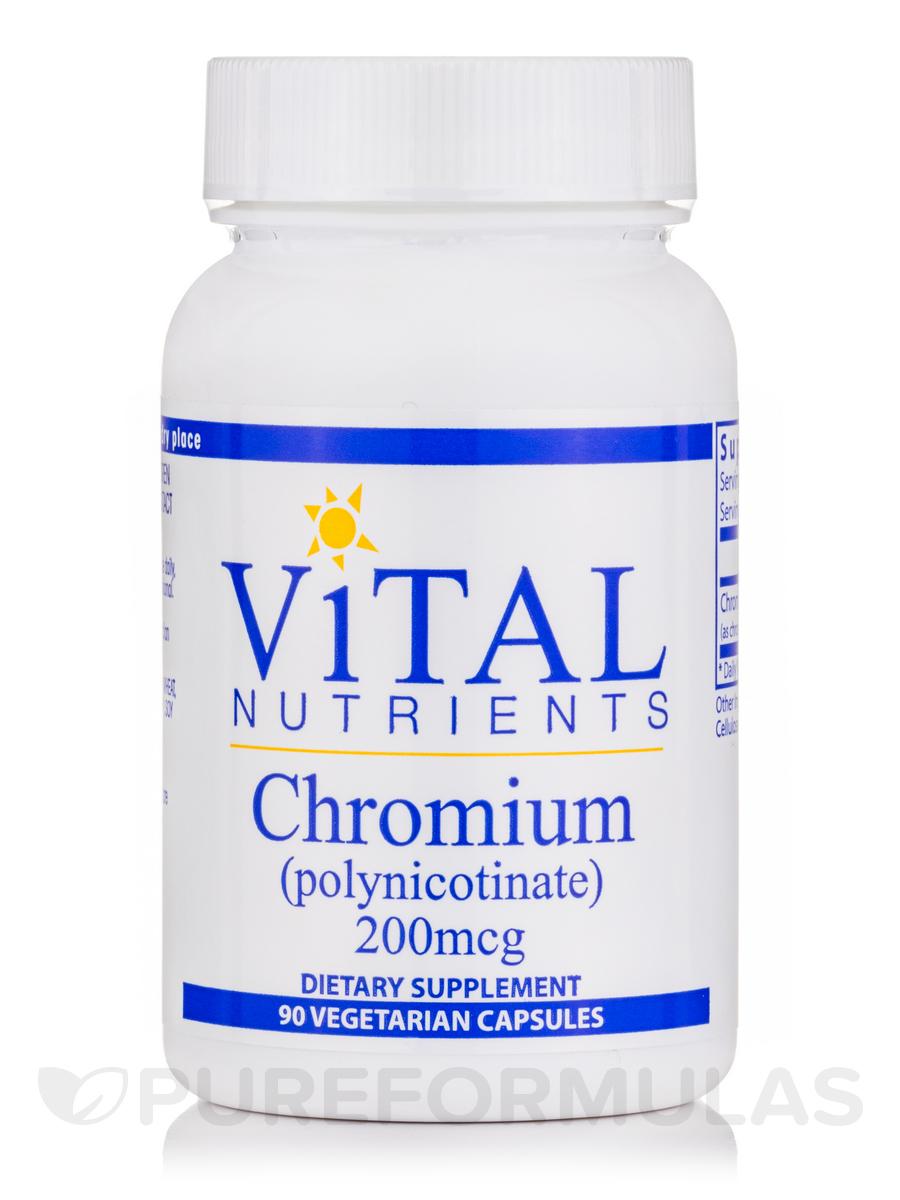 Chromium (polynicotinate) 200 mcg - 90 Capsules