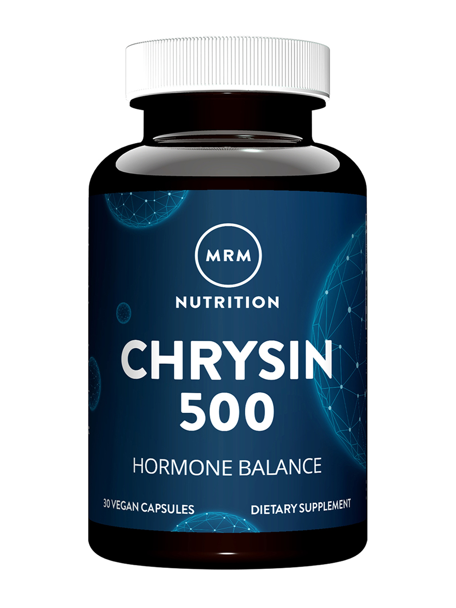 Chrysin 500 mg - 30 Vegetarian Capsules